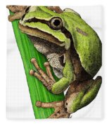 Arizona Tree Frog Fleece Blanket