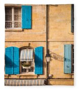 Arles Windows Fleece Blanket