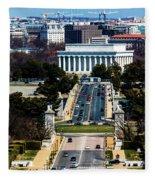 Arlington Memorial Bridge Leads Fleece Blanket
