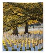 Arlington National Cemetery Washington Dc Fleece Blanket