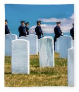 Arlington, Washington D.c. - Honor Fleece Blanket