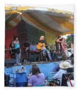 Arlo Guthrie And Family Fleece Blanket