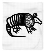 Armadillo Fleece Blanket