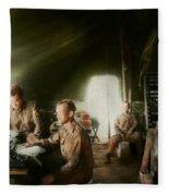 Army - Administration Fleece Blanket