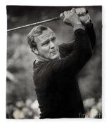 Arnold Palmer Pro-am Golf Photo Pebble Beach Monterey Calif. Circa 1960 Fleece Blanket