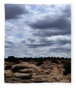 Around The Ranch Fleece Blanket