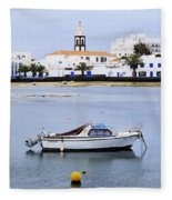 Arrecife On Lanzarote Fleece Blanket