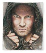 Arrow/ Stephen Amell Fleece Blanket