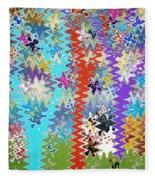Art Abstract Background 14 Fleece Blanket