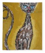 Cat Art Fleece Blanket