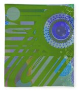 Art Deco Explosion 2 Fleece Blanket