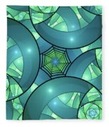 Art Deco Fleece Blanket