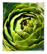Art E. Choke - Artichokes By Diana Sainz Fleece Blanket