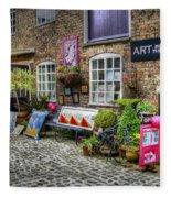 Art In The Mill Fleece Blanket