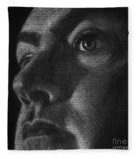 Art In The News 40-self Portrait Fleece Blanket