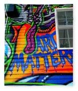 Art Matters Fleece Blanket