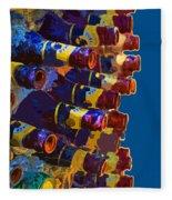 Art Of Bottles Fleece Blanket