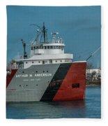 Arthur M Anderson Fleece Blanket