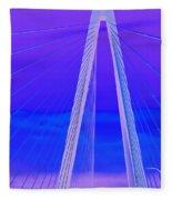 Arthur Ravenel Jr Bridge Iv Fleece Blanket
