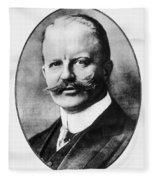 Arthur Zimmermann (1864-1940) Fleece Blanket