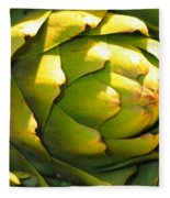 Artichoke  Fleece Blanket