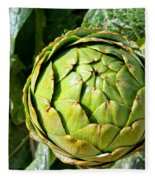 Artie Choke - Artichokes By Diana Sainz Fleece Blanket