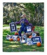 Artie Scarecrow Fleece Blanket