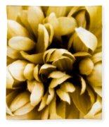 Artificial Flower Fleece Blanket