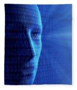 Artificial Intelligence Fleece Blanket
