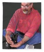Artist At Play Fleece Blanket