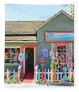 Artist Gallery In Cambria California  7142 Fleece Blanket