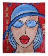 Artists Stores Fleece Blanket