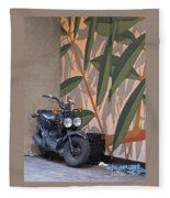 Artsy Parking Space Fleece Blanket