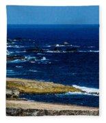 Aruba Coast Fleece Blanket