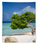 Aruba Tree Fleece Blanket