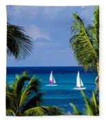 Arubian Sails Fleece Blanket