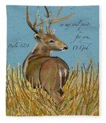 As The Deer Fleece Blanket