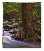 As The River Runs Fleece Blanket