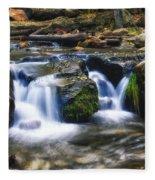 As The Water Flows  Fleece Blanket