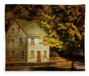 As The World Passes By Fleece Blanket