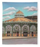 Asbury Park Carousel House Fleece Blanket