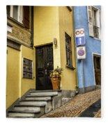 Ascona Alley Fleece Blanket