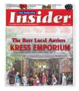 Asheville Insider Magazine Fleece Blanket