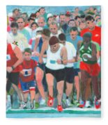 Ashland Half Marathon Fleece Blanket