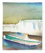 Ashore In Lanzarote Fleece Blanket