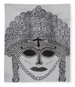 Dark Ancient Eyes  Fleece Blanket