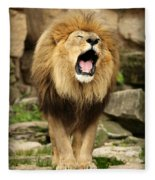 Aslan's Roar Fleece Blanket