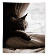 Asleep At Last Fleece Blanket