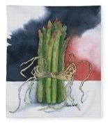 Asparagus In Raffia Fleece Blanket