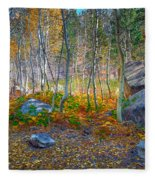 Aspen Grove Fleece Blanket